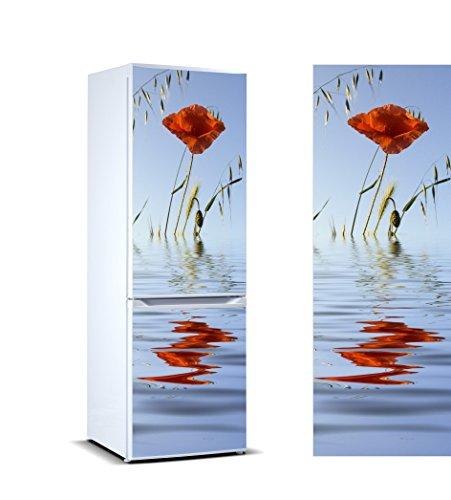 Pegatinas 3D Vinilo Frigorífico Amapola Agua | Varias
