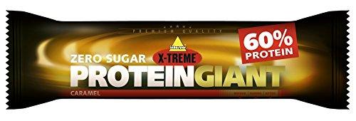 Inkospor 770025620 X-Treme Protein Giant Riegel, Caramel, 24 x 65g