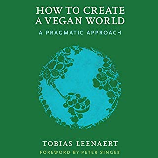 How to Create a Vegan World audiobook cover art