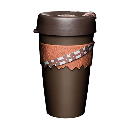 KeepCup Star Wars Reusable Coffee Cup - Lightweight Plastic, Large (16oz), Chewbacca