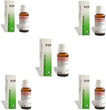 5 Lots X Dr.Reckeweg R 29 22Ml Homeopathic Medicine