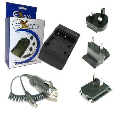 Ex-Pro® Digital kamera Schnell-Ladegerat für UK, USA, Canada & Europäer für BYD Batterien DS-5370, DS5370