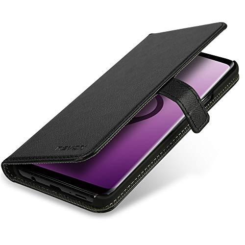 NENOX Ordo Schutzhülle für Handy 14,7 cm (5,8 Zoll) Book schwarz, grau - Handyhüllen (Bücher, Samsung, Galaxy S9, 14,7 cm (5,8 Zoll), Schwarz, Grau)