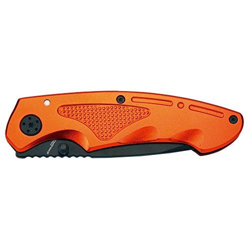 Schwarzwolf outdoor Taschen-Messer Einhand-Messer Gürtelclip Klapp-Messer Outdoor-Messer Klappmesser, farbig, hochwertig mit Clip Matrix (orange)