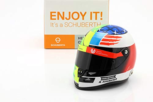 SCHUBERTH Mick Schumacher Benetton B194 #5 Demo Run GP Spa F1 2017 Helm 1:2