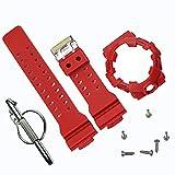 Accessori per Orologi da Uomo con Cinturino in Resina Camo compatibili con Casio G- Shock GA700 GA735 Sport Sport Impermeabile Cinturino per Orologi da Donna