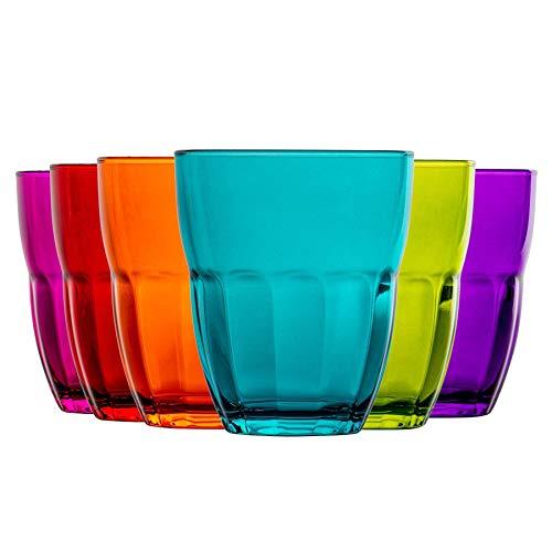 Bormioli Rocco Ercole Vasos Multiusos - 230 ml - Multicolor - 6 unidades