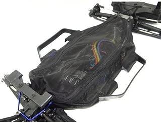 For 1/10 RC CAR Rally Slash 4x4 LCG chassis dirt guard cover-1SET Black