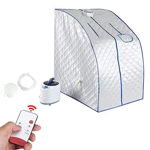 Draagbare stoomsauna SPA, saunacabine, badkuip voor sauna, stress verminderen, afstandsbediening temperatuur 2L
