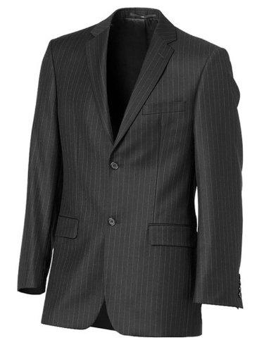 Élégant Lainé affaires costume noir 102/50 (481)
