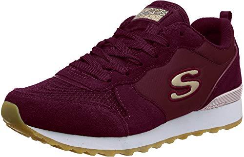 Skechers Skechers Damen OG 85 GOLD'N GURL Sneaker, Burgundy, 36 2/3 EU