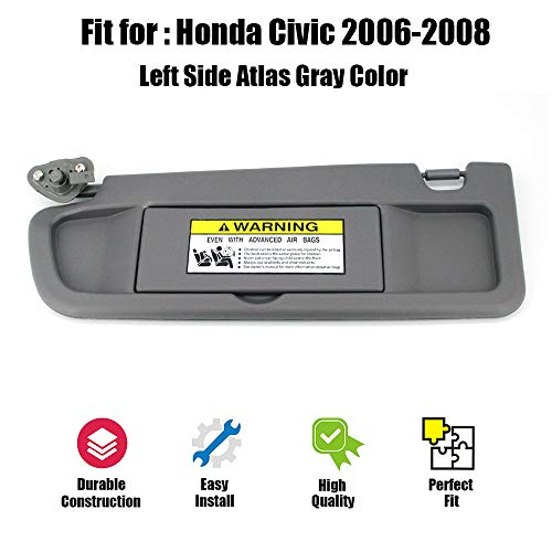 06 civic si sun visor - 4