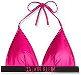 Calvin Klein Fixed Triangle-rp Almohadillas y Rellenos de Sujetador, Rosa (Pink GLO TZ7), XS para Mujer