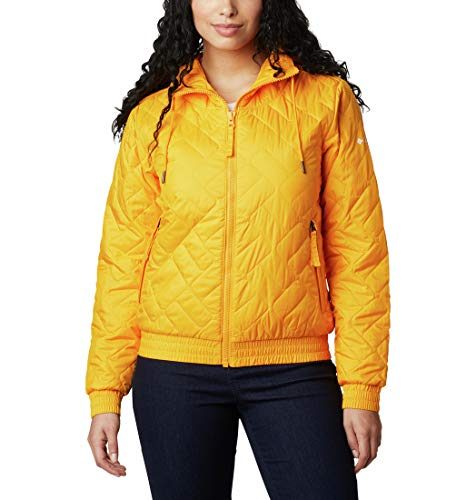 Columbia Sweet View Insulated Bomber, Maglie Donna, Bright Marigold, XS