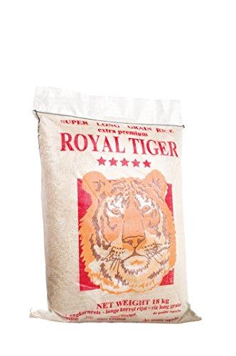 Royal Tiger Reis weiß Langkorn, 1er Pack (1 x 18 kg)