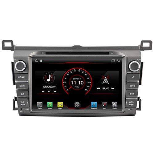 W-bgzsj para Toyota RAV4 2013 2014 2015 2016 2017 2017 Android 10 Coche Reproductor de DVD Sat Radio Radio Unidad GPS Navegación Estéreo Bluetooth SD Radio USB WiFi DVR 1080P