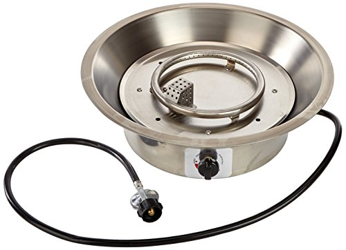 Hiland 1201-BURNER Fire Pit Burner Replacement for F-1201-FPT and F-1350-FPT, Stainless Steel