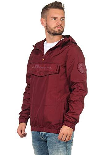Ellesse Mont Nero Oh Jacket Veste pour homme S Bordeaux