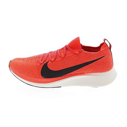 Nike Zoom Fly Flyknit Men's Running Shoe Bright Crimson/Black-Total Crimson Size 12