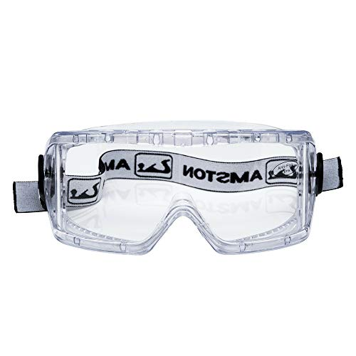 Great Deal! Amston Safety Goggles - ANSI Z87.1 & OSHA Compliant - Protective Eyewear for Constructio...