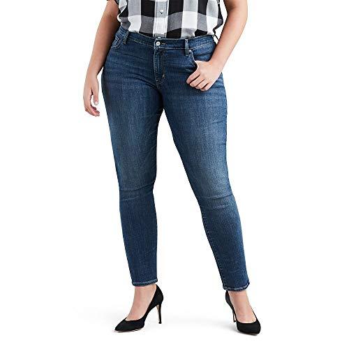 Levi's Women's Plus Size 711 Skinny Jean, Astro Indigo - Blue, 36 (US 16) M