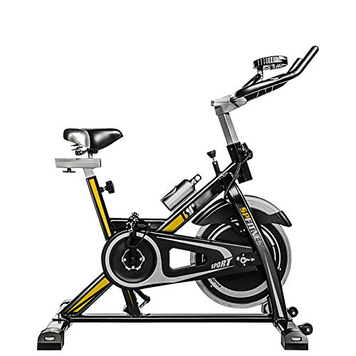 WBaRJ Indoor Cycling Bicicleta Estática Spinning Bike, Sensor de ...