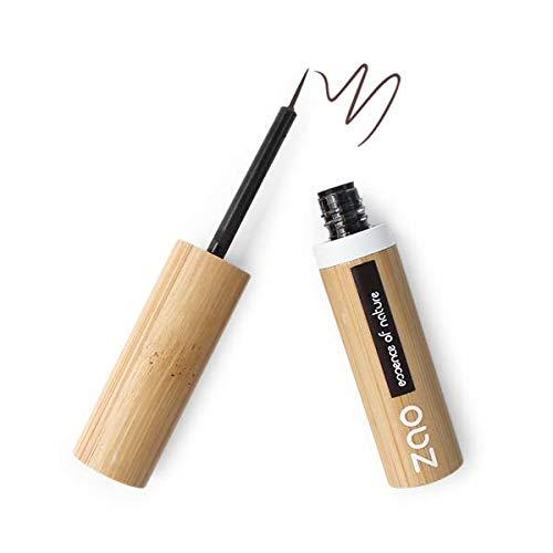 Zao Makeup - Eyeliner Pinceau 071 Brun Foncé - Lot De 2 - Livraison Rapide En France - Prix Par Lot