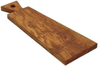 """Bisetti Olive Wood Cutting Board, Brown, 16.3 x 6.1"""""""