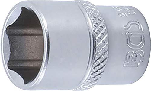 BGS 2485 | Steckschlüssel-Einsatz Sechskant | 6,3 mm (1/4') | SW 13 mm | CV-Stahl | Stecknuss
