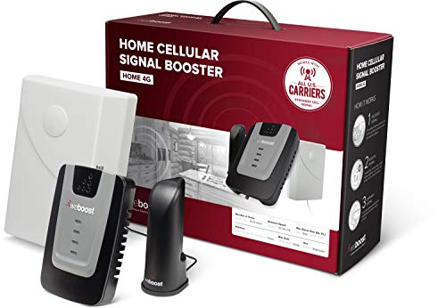 weBoost Home 4G 470101 Cell Phone Signal Booster for Home and Office - Enhance Your Cell Phone Signal up to 32x