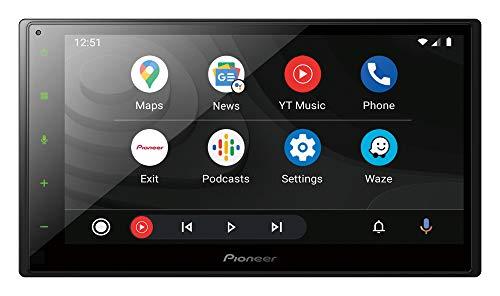 Schermo doppio DIN con CarPlay e Android Auto di Pioneer