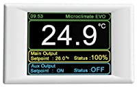 Twin channel touch screen thermostat 1200w maximum load designed and manufactured in the UK 5 year warranty Built in data logging