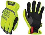 Mechanix Wear - Hi-Viz FastFit Work Gloves (Large, Fluorescent Yellow)