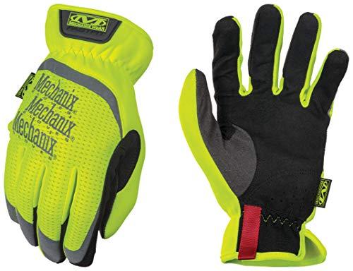 Mechanix Wear Medium Hi-Viz Yellow FastFit Full Fi, SFF-91-009, Fluorescent Yellow