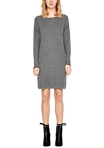 s.Oliver Damen 14711827187 Kleid, grau (Pewter Grey Melange 9730), 40