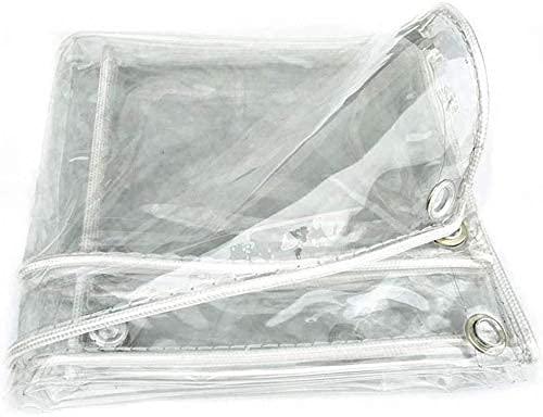BBZZ Invernaderos para el jardín herramientas de jardín lona transparente impermeable, lona a prueba de polvo y lluvia, toldo de planta al aire libre, cubierta protectora de cortina impermeable