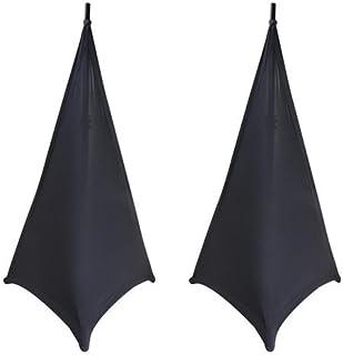 On-Stage SSA100 Speaker/Lighting Stand Skirt, 2-Pieces (Black)