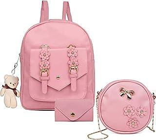 Smart Choice Fashion Girls 3-PCS Backpack for Women and girls (Grey)