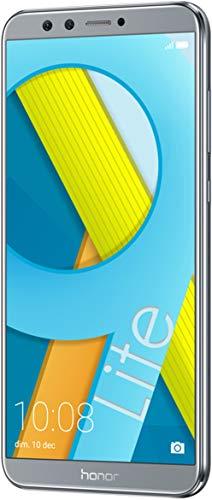 """Honor 9 Lite Smartphone, Schermo 5.65"""" Fhd+, 4 Gb Ram, Doppia Fotocamera 13 e 2 Mp, 64 Gb, Grigio"""