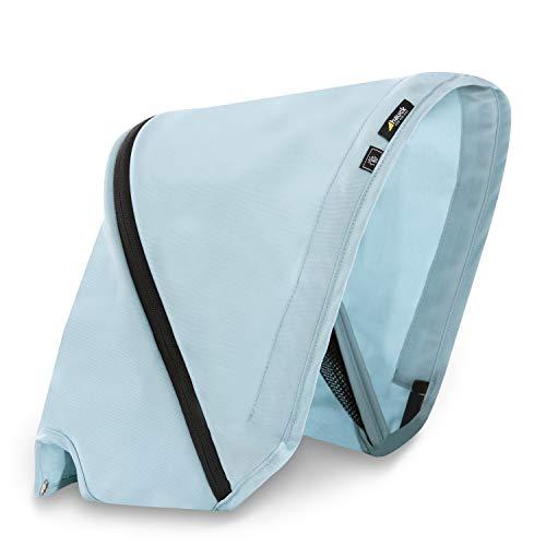 Capota Hauck de 3 zonas con protección UV 50+ para el buggy hermano Swift X Duo, óptimos diseños, fácilmente intercambiables para un estilo individual - azul