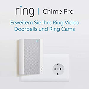 Ring Chime Pro, Weiß