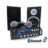 TLC Ensemble karaoké STAR4 ampli 2x75W +2 HP + 2 micros