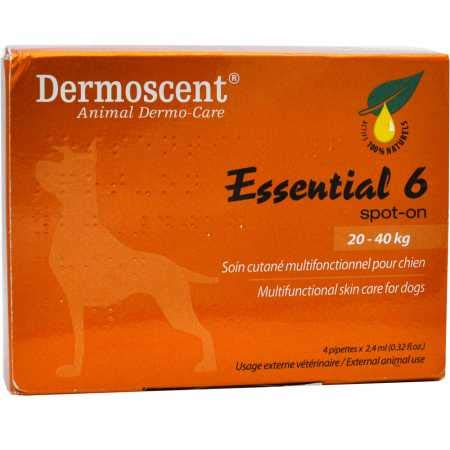 Merial Dermoscent 4 Pipetas de Spot On Perro Entre 20-40 kg