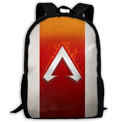 Shichangwei Unisex School Backpack, Unisex Kids Schoolbags Battle_Apex Backpack for School Girls Boys Daypacks Rucksack Zipper
