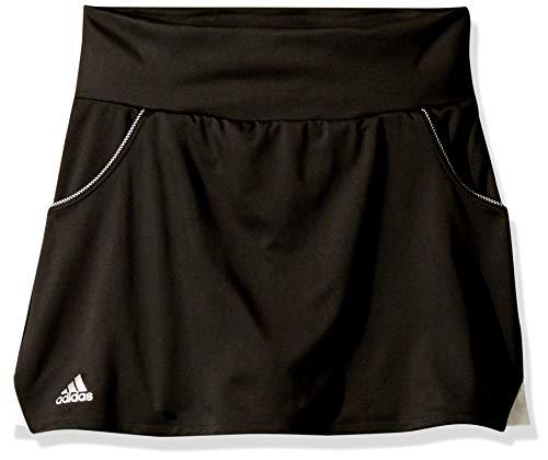 adidas Junior Girls' Club Tennis Skirt, Black, X-Large