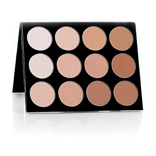 Mehron Maquillage CELEBRE Pro-HD Poudre Pressée, Contour et Mettre en évidence la palette