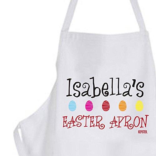 Huevos de Pascua, presente, para decorar delantal para niños ...
