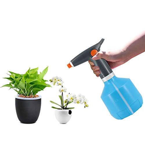 Mirai MIRAI じょうろ 電動式 霧吹き スプレー 容器 ウォータースプレー 園芸 掃除 農薬散布 掃除 直射 噴霧 噴霧器 便利 使いやすい 家庭用 (青い) 157mm*157mm*286mm