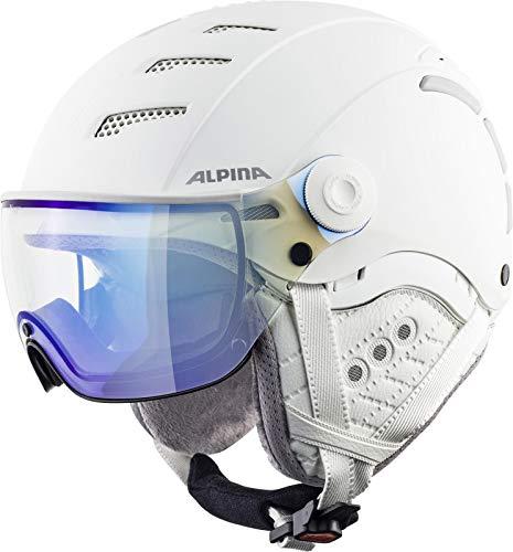 ALPINA Unisex - Erwachsene, JUMP 2.0 V Skihelm, white matt, 55-58 cm