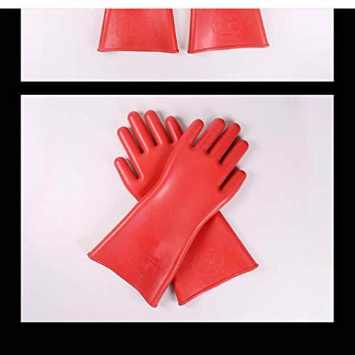 1 Paar Premium Elektrohandschuhe Isolierter Handschuh für Elektriker - 25kv